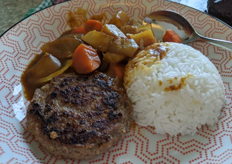 Step-by-Step Guide to Make Super Quick Homemade Japanese curry with beef patty