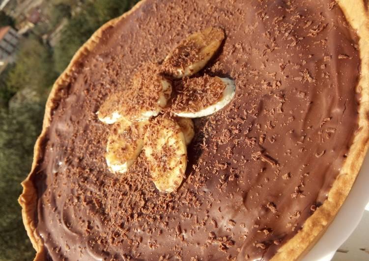 Tarte-Dessert au Chocolat Banane