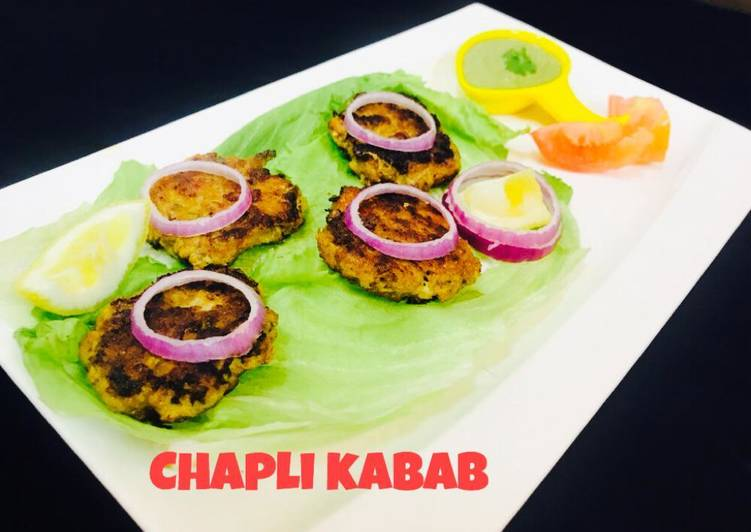 Pakistani Chapli kabab