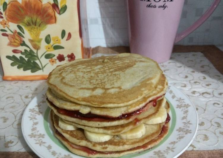 Recipe of Favorite Buttermilk pancakes