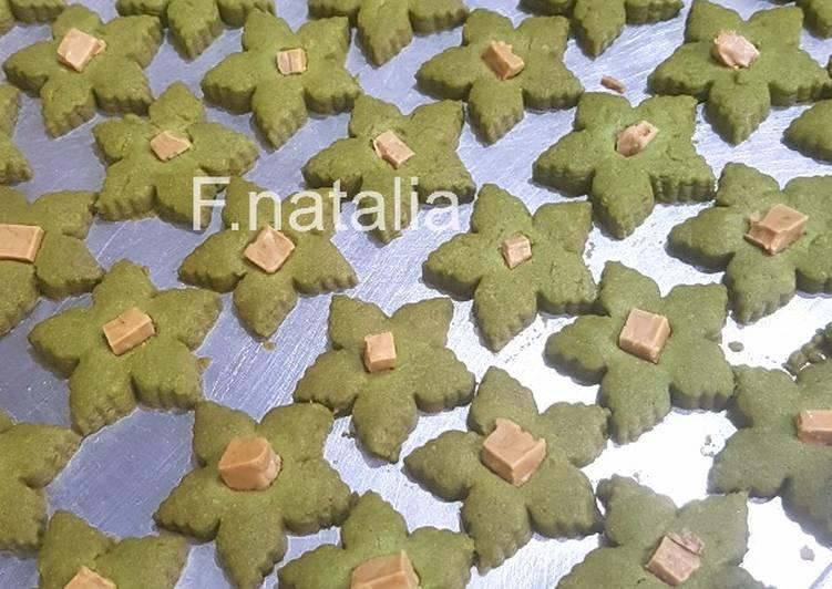 Greentea cookies