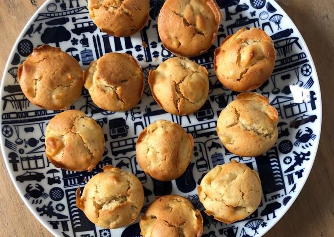 Muffins pommes noisettes