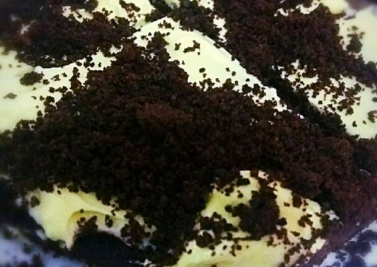 Brownies butter oreo