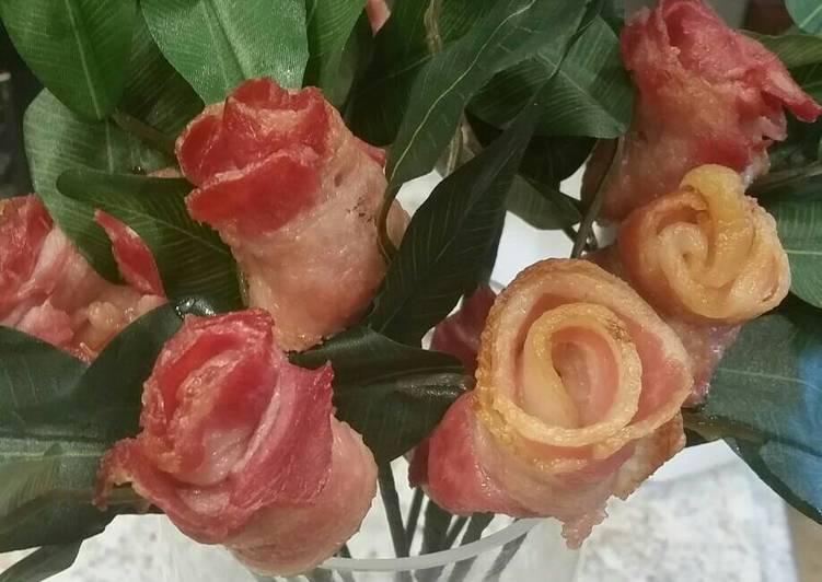 Bacon Roses