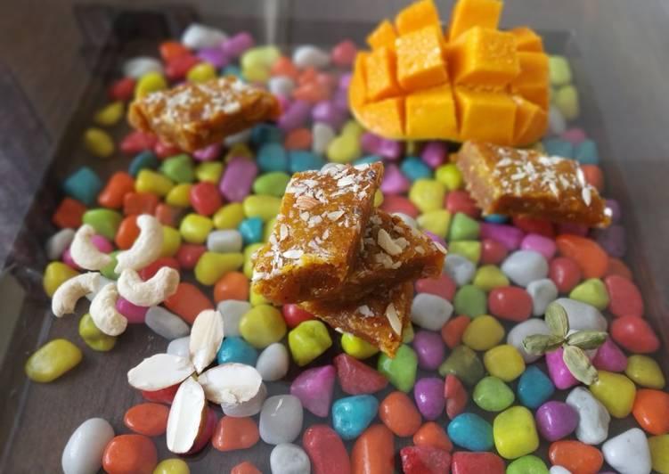 How to Make Speedy Mango fudge