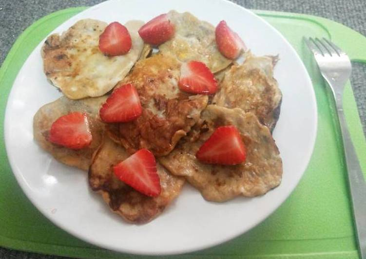 Recipe of Speedy 2 Ingredients Banana Pancakes