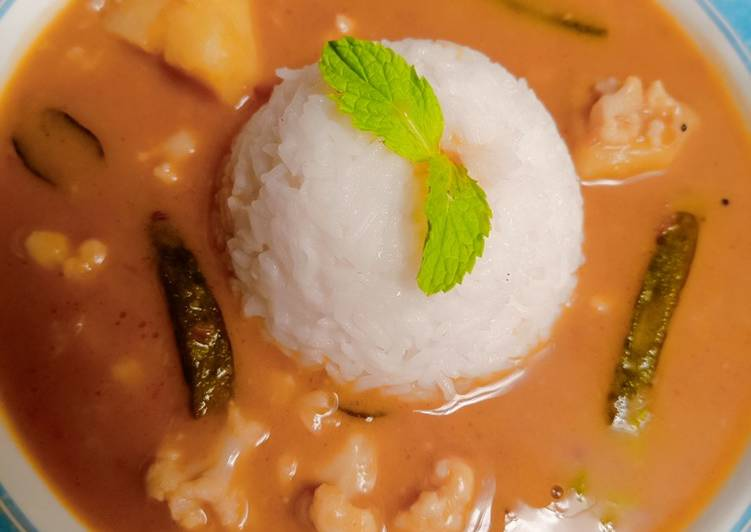 Recipe of Perfect Sindhi curry chawal