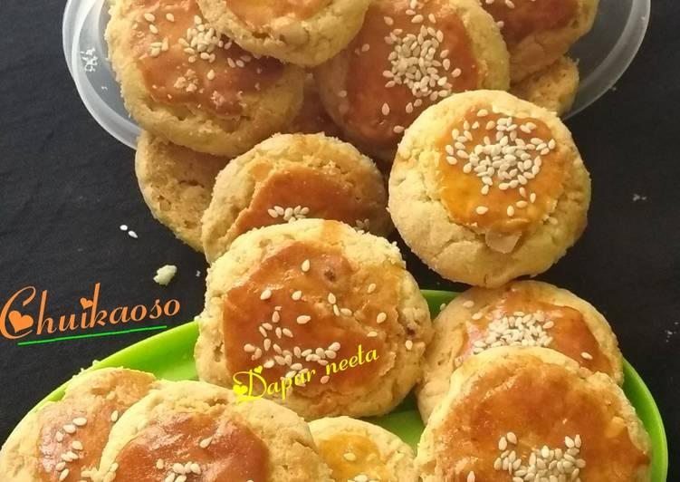 Chuikaoso (Oriental peanut cookies)