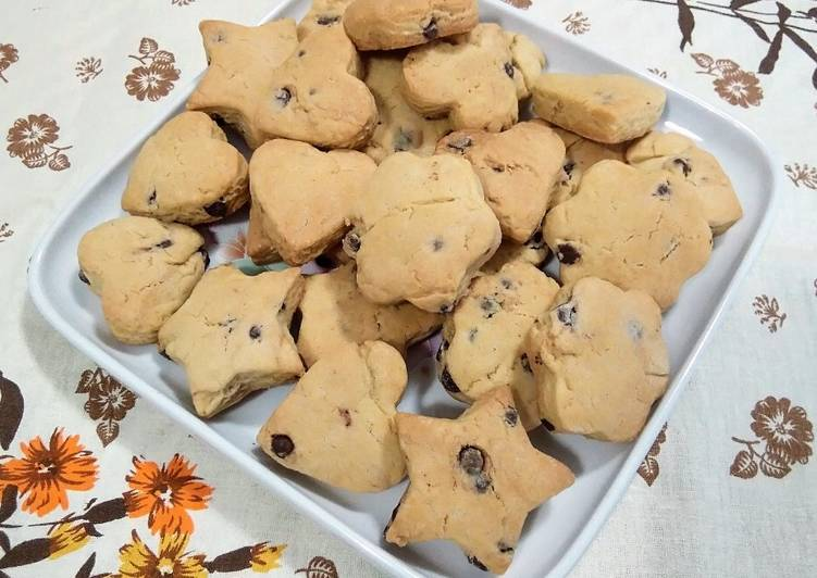 Ricetta Cookies con esubero del lievito madre