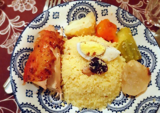 Couscous au poulet et aux légumes 🍴
