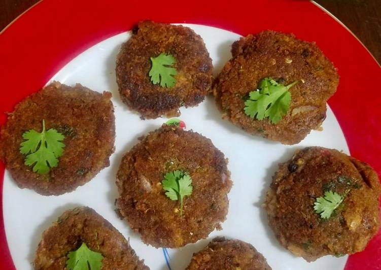 Hyderabadi Mutton shaami kebab