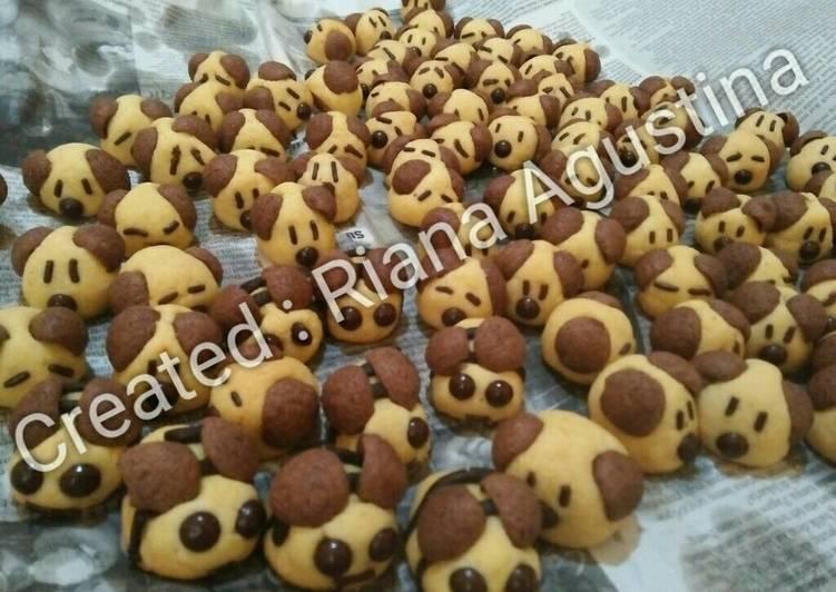Nastar doggie lebah kue kering - cookandrecipe.com