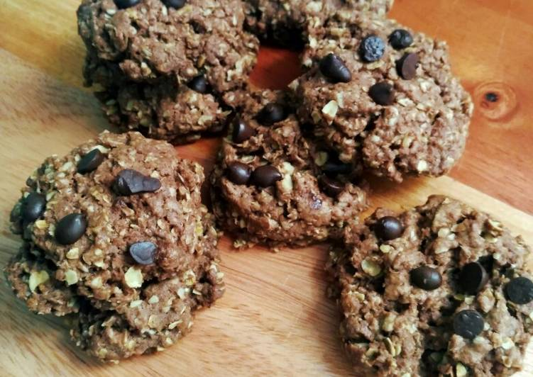 Kue Kering Oatmeal || Oatmeal Chocolate Cookies ||