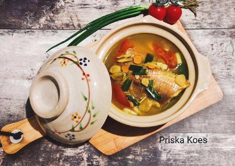 Resep Sup Ikan Nila Spesial