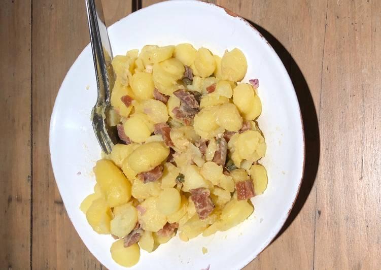 Salade de harengs pommes à l'huile