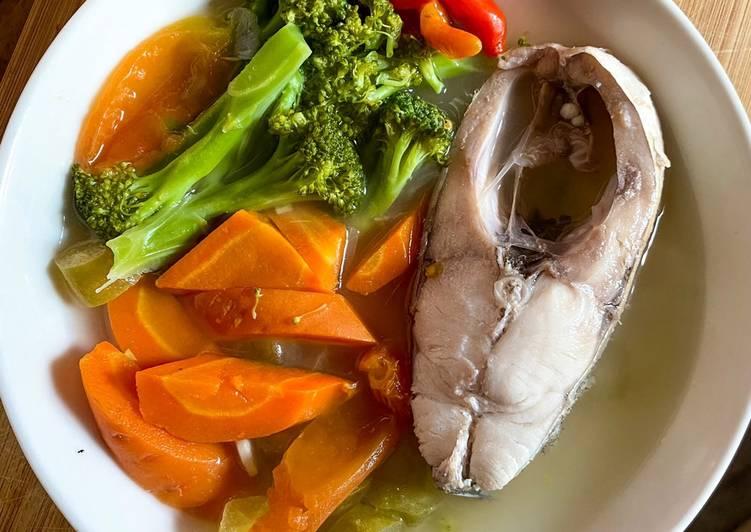 Sup Ikan Kakap Kuah Bening