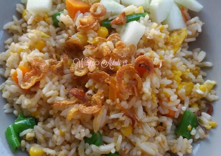 Nasi Goreng mix Vegetable