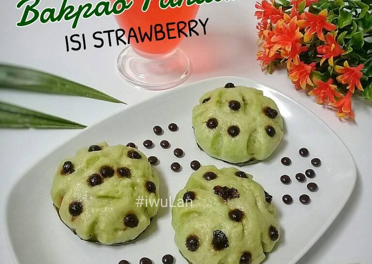 Bakpao Pandan Isi Stawberry