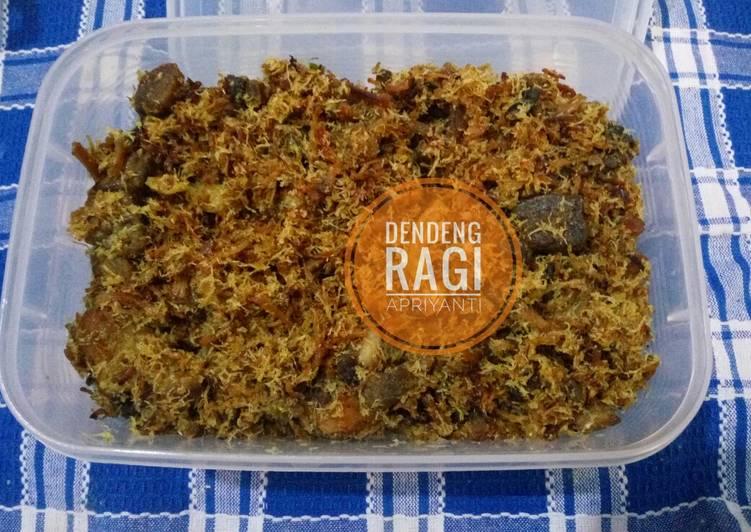 Dendeng Ragi (Daging Sapi serundeng)