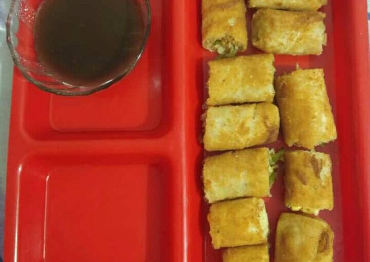 Step-by-Step Guide to Prepare Homemade Spring roll