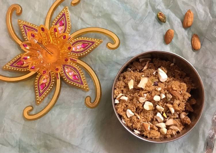 Steps to Make Super Quick Homemade Rava Sheera