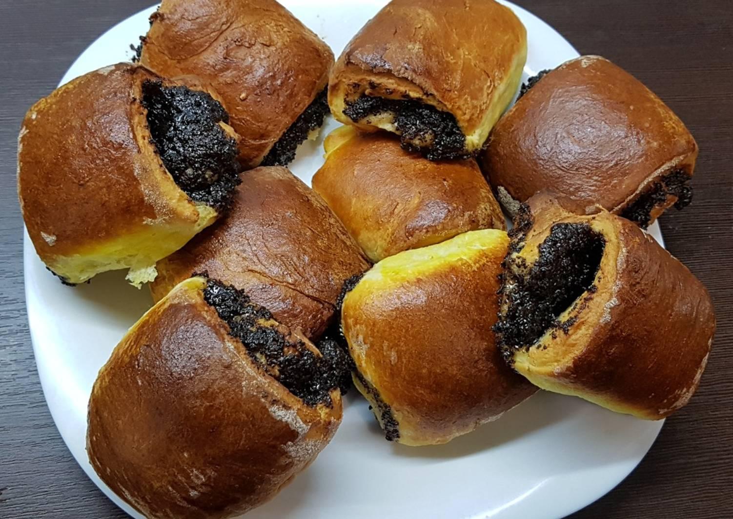 фото осенние маковые булочки рецепт с фото поздравление днем рождения