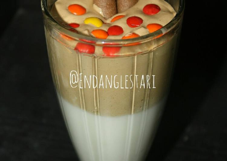 Dalgona coffe anti gagal