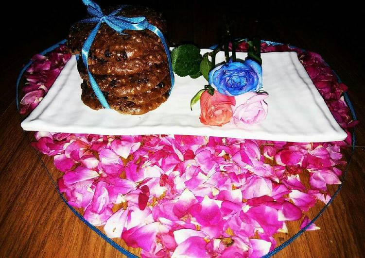 Best Comfort Dinner Easy Quick Expresso choclate chips & rice crums cookies