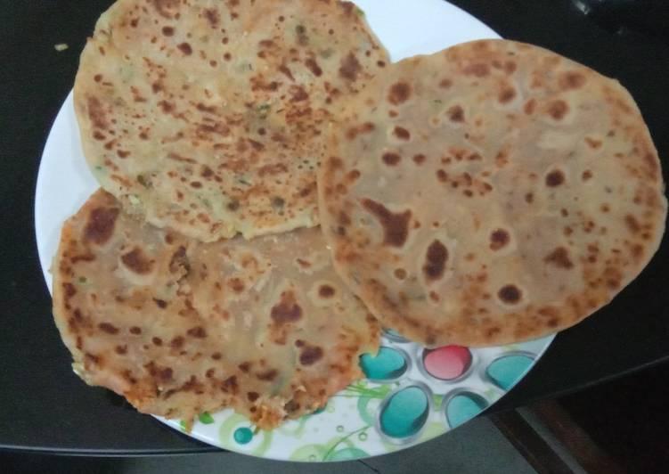 How to Make Homemade Cheesy veg Paratha