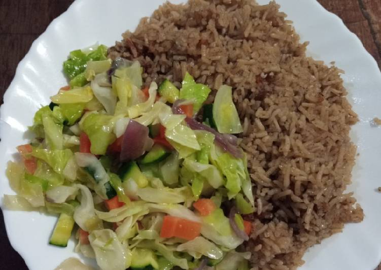 10 Minute Step-by-Step Guide to Prepare Award Winning Beef pilau with veggies