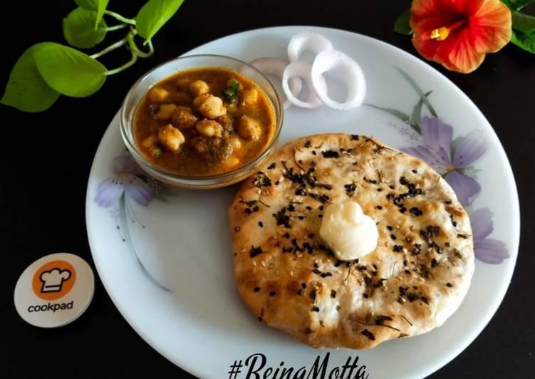Recipe of Favorite Baked Amritsari Aloo Kulcha (Airfryer)