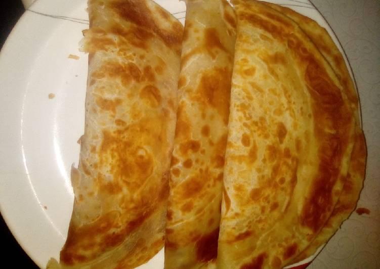 Recipe of Favorite Soft layered chapati
