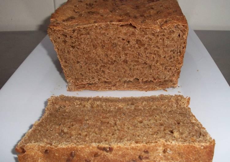como hacer pan saludable con harina integral
