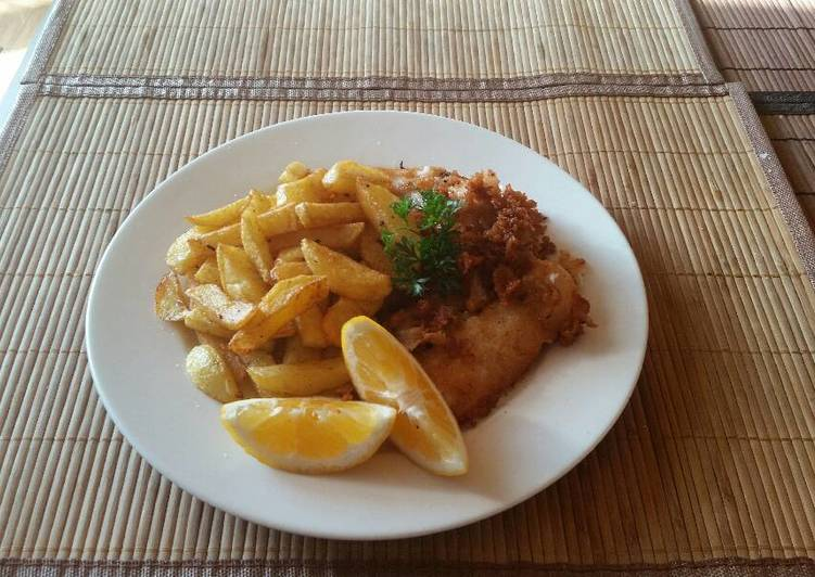 Recipe: Yummy Beer battered fish & chips