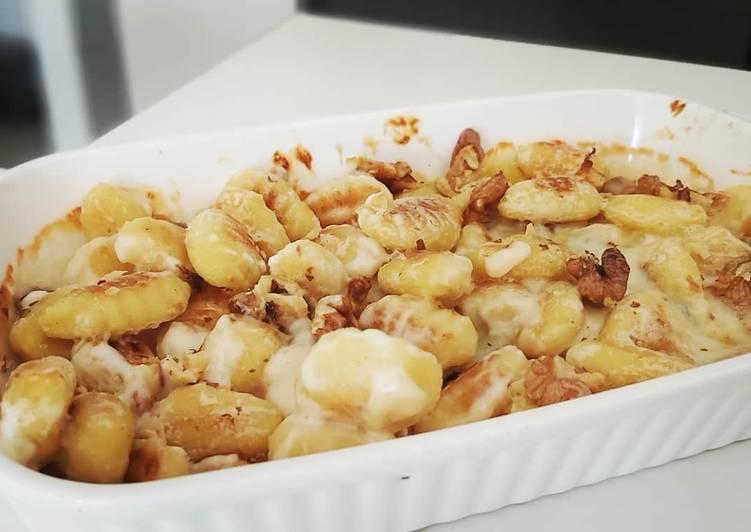 Gnocchis gorgonzola & noix