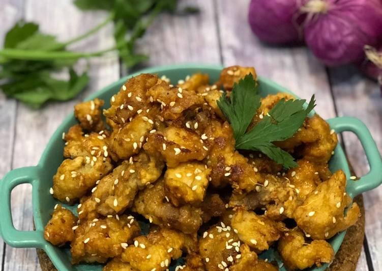 Honey Chicken ala Tiger Kitchen