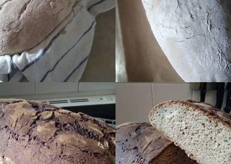 Sauerteig Roggenmisch Brot