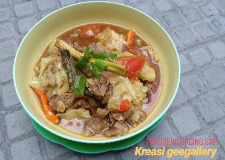 170. Tongseng daging sapi