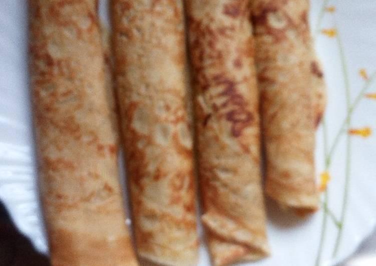 Vanilla Flavored Pancakes