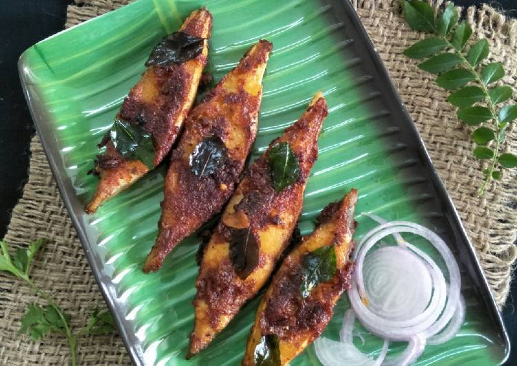 How to Prepare Award-winning Meen Varuthathu (Kerala Style Fish Fry)