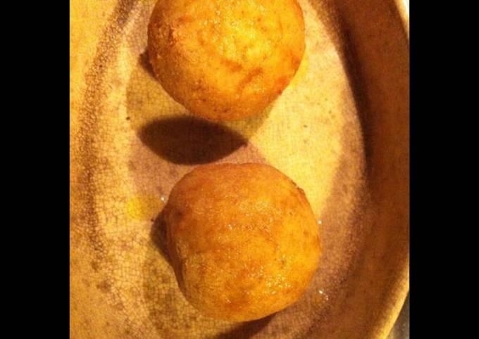 Boules panées riz jambon et mozzarella