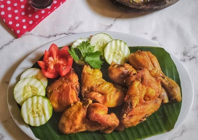 Ayam Goreng Ungkep Simpel