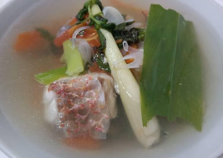 Cara Termudah Menyiapkan Ikan Kuah Asam Bening Menu Anak Resep Masakanku