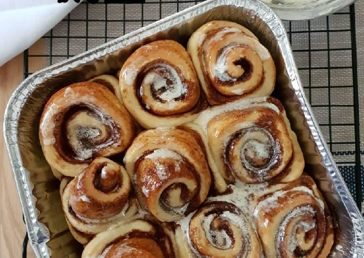 Resep Cinnamon roll Terenak