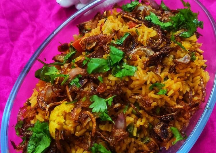 What is Dinner Easy Special Delicious Veg biryani