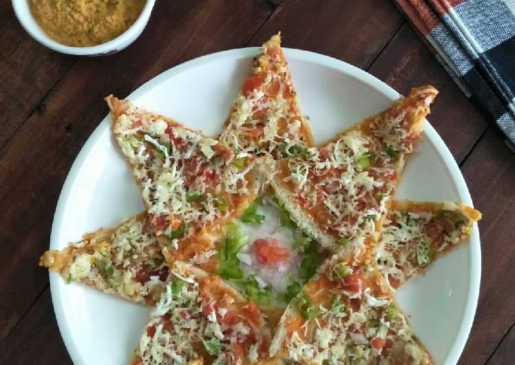 Paneer Pizza Dosa