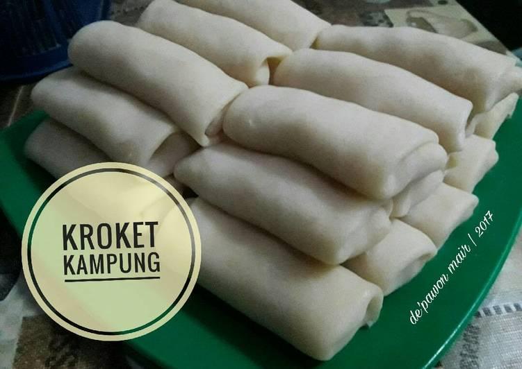 Resep Kroket kampung oleh Pawon mair (Irma Rahmawati) - Cookpad