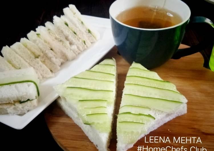 Teatime Cucumber Sandwich