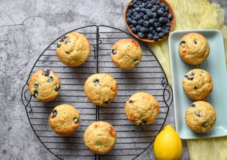 Recipe of Award-winning Morning blueberry muffins