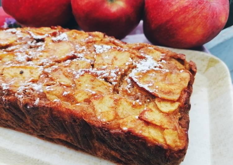 Recette De Gâteau invisible aux pommes